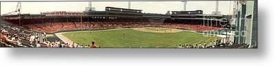 Once Upon A Fenway Metal Print by David Bearden