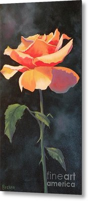 One And Only Metal Print by Susan A Becker