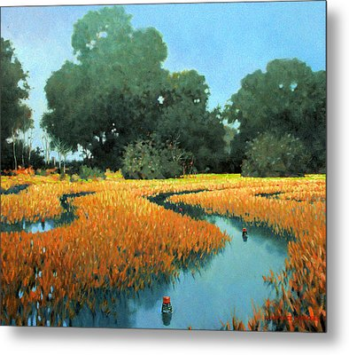 One Fine Dish Metal Print by Kevin Lawrence Leveque