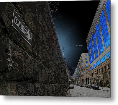 One Way Or Another Metal Print by Joe Hickson