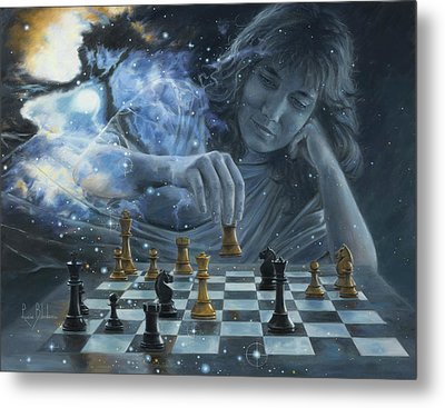 Only A Game Metal Print by Lucie Bilodeau