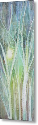 Opalescent Twilight I Metal Print by Shadia Zayed