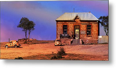 Open For Business Metal Print by Holly Kempe
