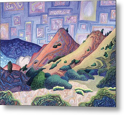 Opening The Dream Window Metal Print by Dale Beckman