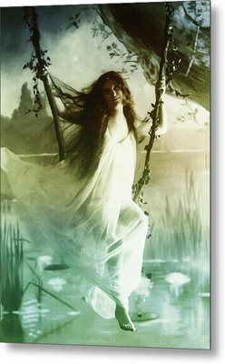 Ophelia 1895 Metal Print by Digital Reproductions