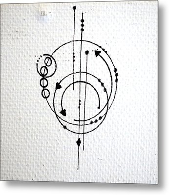 Orbit #001 Metal Print by Sinta Jimenez