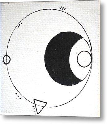 Orbit #002 Metal Print by Sinta Jimenez