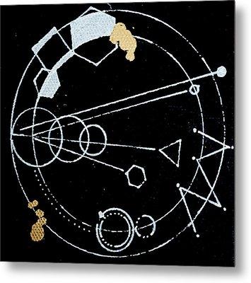 Orbit #003 Metal Print by Sinta Jimenez