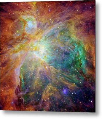 Orion Nebula Metal Print by Mark Kiver