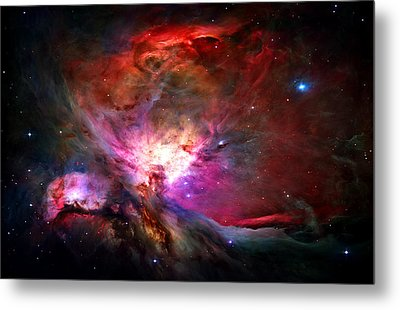 Orion Nebula Metal Print by Michael Tompsett