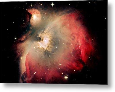 Orion Nebula Redux Metal Print by Jim DeLillo
