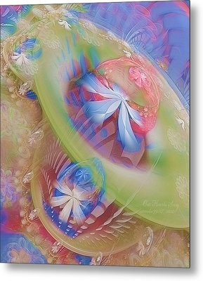 Our Hearts Sing  Metal Print by Gayle Odsather