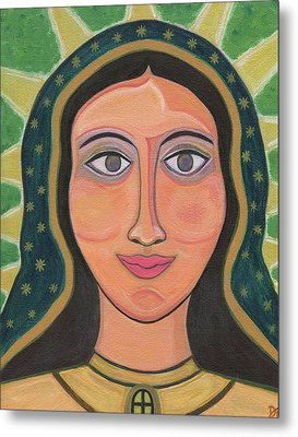 Our Lady Of Guadalupe Metal Print by Danielle Tayabas