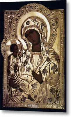 Our Lady Of Yevsemanisk Metal Print by Granger
