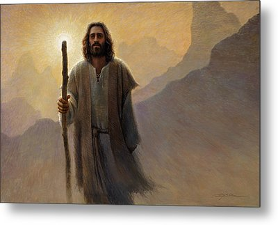 Out Of The Wilderness Metal Print by Greg Olsen