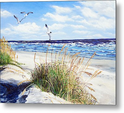 Outer Banks Metal Print by Pamela Nations