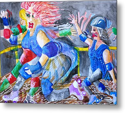 Outta The Way Metal Print by Jame Hayes