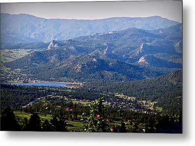Over Estes Metal Print by Aaron Burrows