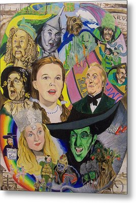 Over The Rainbow Metal Print by Steve Teets