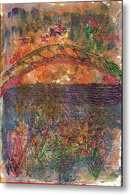 Over The River And Through The Woods Metal Print by Anne-Elizabeth Whiteway