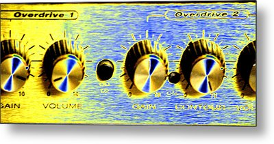 Overdrive Metal Print by Peter  McIntosh