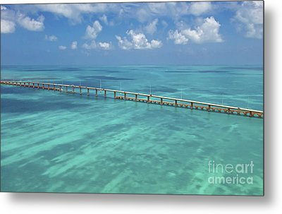 Overseas Highway Metal Print by Patrick M Lynch