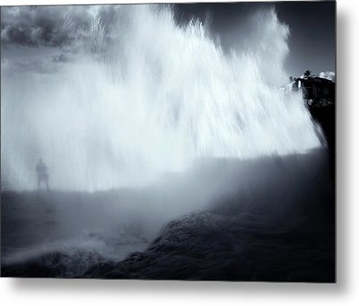 Overshadowed By Nature Metal Print by Mike  Dawson
