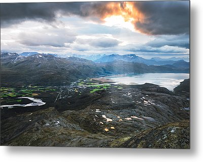 Overview Metal Print by Tor-Ivar Naess