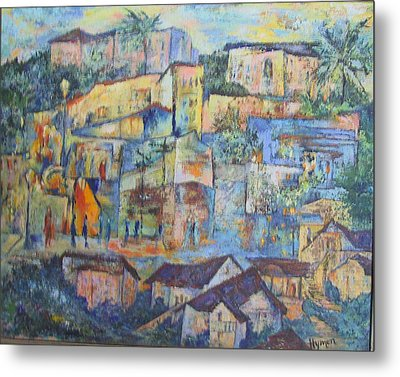 Pacific Palisades Metal Print by Lily Hymen