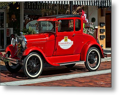 Packed For Christmas Metal Print by Christopher Holmes