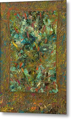 Paint Number 24 Metal Print by James W Johnson