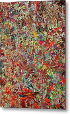 Paint Number 33 Metal Print by James W Johnson
