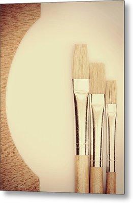 Painting Tools Metal Print by Wim Lanclus
