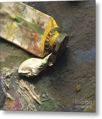 Painting Tub Metal Print by Bernard Jaubert