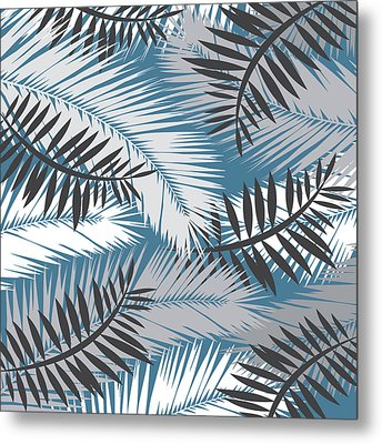 Palm Trees 10 Metal Print by Mark Ashkenazi