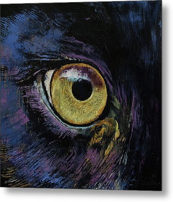 Panther Eye Metal Print by Michael Creese