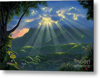 Paradise Found Metal Print by Al Hogue