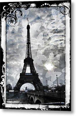 Paris Metal Print by Marianna Mills
