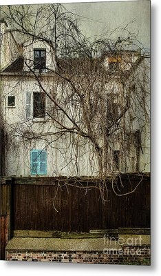 Paris Montmartre  Metal Print by Elena Nosyreva
