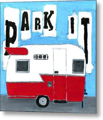 Park It Metal Print by Debbie Brown