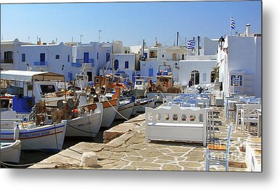 Paros Metal Print by Christo Christov