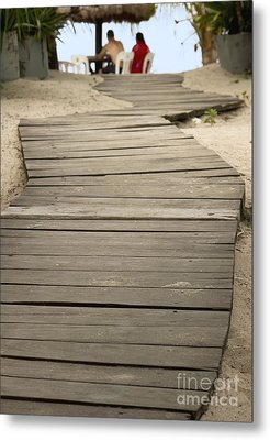 Path Metal Print by Blink Images