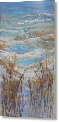Path To Peace Metal Print by Gertrude Palmer