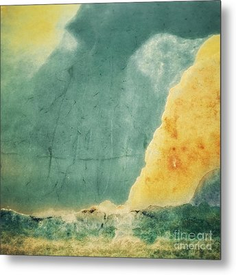 Patina 1 Metal Print by Priska Wettstein