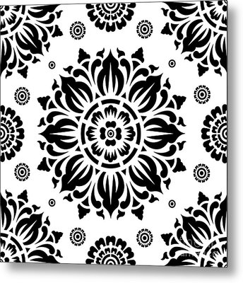 Pattern Art 01-2 Metal Print by Bobbi Freelance
