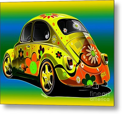 Peace Metal Print by Cheryl Young