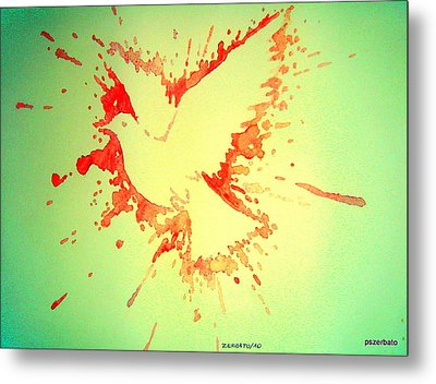 Peace Made By War Metal Print by Paulo Zerbato