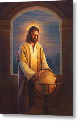Peace On Earth Metal Print by Greg Olsen