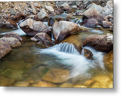 Peaceful Stream Metal Print by James BO Insogna