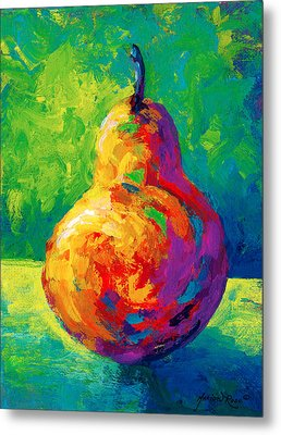 Pear II Metal Print by Marion Rose